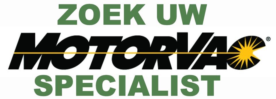 Zoek uw MotorVac Specialist